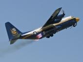 Hercules Lockheed Martin KC-130T `Fat Albert´ Blue Angels