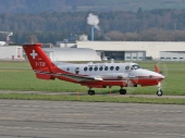 Swiss - Air Force Beech Super King Air 350 T-721