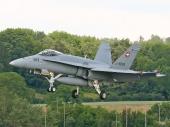 Swiss - Air Force Hornet FA-18C J-5009