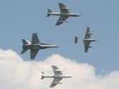Swiss - Air Force Vampire, Hunter, Hornet FA-18C