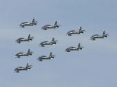 Italian - Air Force Aerobatic Team Frecce Tricolori
