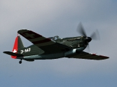 Swiss - Air Force Morane-Saulnier D-3801 J-143