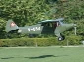 Piper PA-18 160 HB-PAV ex V-654 der Luftwaffe