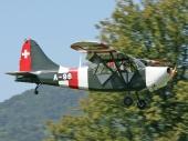 Stinson L-5 HB-TRY ex A-96 der Luftwaffe