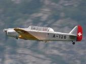 Pilatus P-2.05 HB-RAZ ex A-126 der Luftwaffe