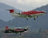 Pilatus PC-12 und PC-9