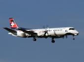 Darwin Airline HB-IZZ Saab 2000