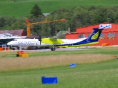 Sky Work Airlines HB-JGA De Havilland Canada DHC-8-402Q Dash 8
