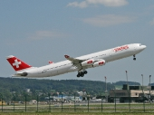 Airbus A340-313X HB-JMF
