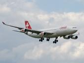 Airbus A340-313X HB-JMH
