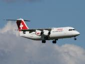 AVRO RJ100 HB-IYR