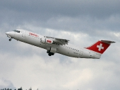 AVRO RJ100 HB-IXO