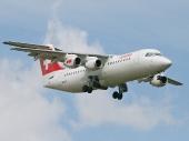 AVRO RJ100 HB-IXT