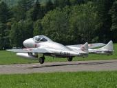 De Havilland DH-115 Vampire-Trainer Mk 55 HB-RVF