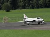 Hawker Hunter Mk.58 J-4040 Papyrus HB-RVS