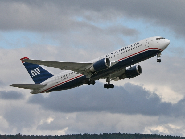 US Airways N255AY Boeing 767-2B7