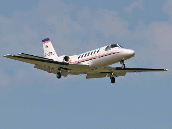 Adolf Wuerth KG D-CAWU Cessna 560 Citation V