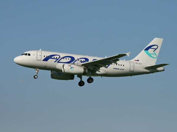 Adria Airways S5-AAP Airbus A319-132
