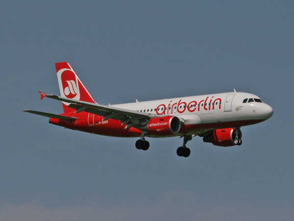 Air Berlin D-ABGO Airbus A319-112