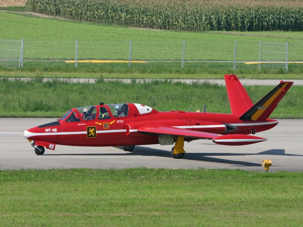 Belgium - Air Force Fouga CM-170 Magister MT48