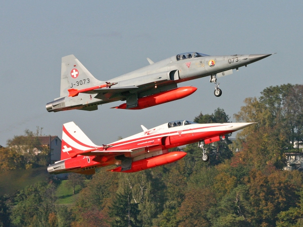 Swiss - Air Force Tiger F-5E J-3073, J-3088