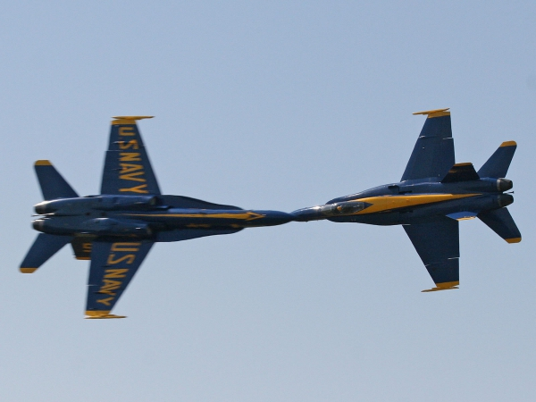 US - Navy Blue Angels Hornet FA-18A